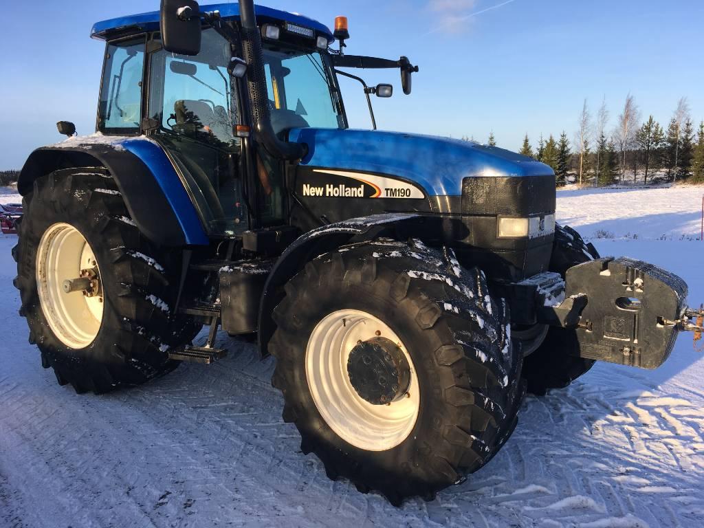 New Holland TM 190  PC  50, Traktorit, Maatalous