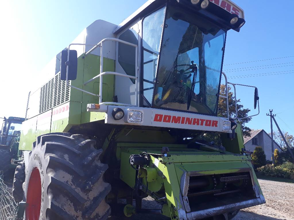 CLAAS Dominator 108 SL, Combine harvesters, Agriculture