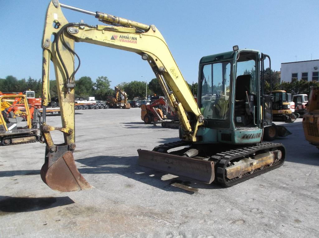 Yanmar Vio 55, Mini Excavators <7t (Mini Diggers), Construction Equipment