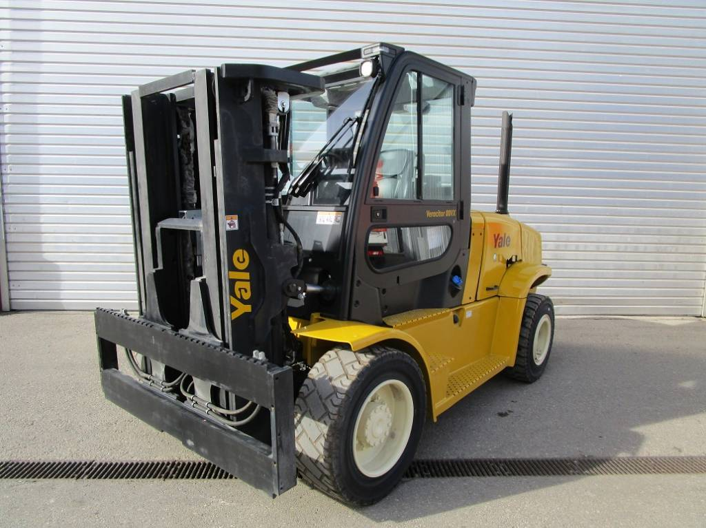 Yale GDP 80VX9, Diesel counterbalance Forklifts, Material Handling