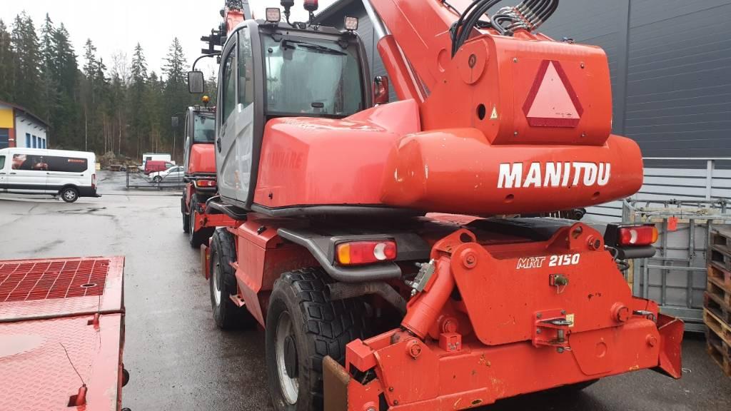 Manitou MRT 2150 Privilege, Kurottajat, Maarakennus