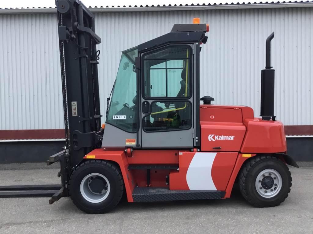 Kalmar DCE80-6, Diesel trucks, Material Handling