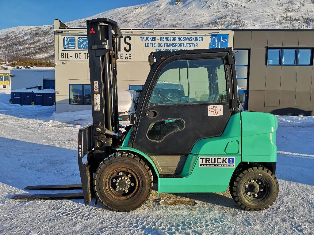 Mitsubishi FD40N - 4,0 t diesel - 4,0 m LH, Diesel Trucker, Truck