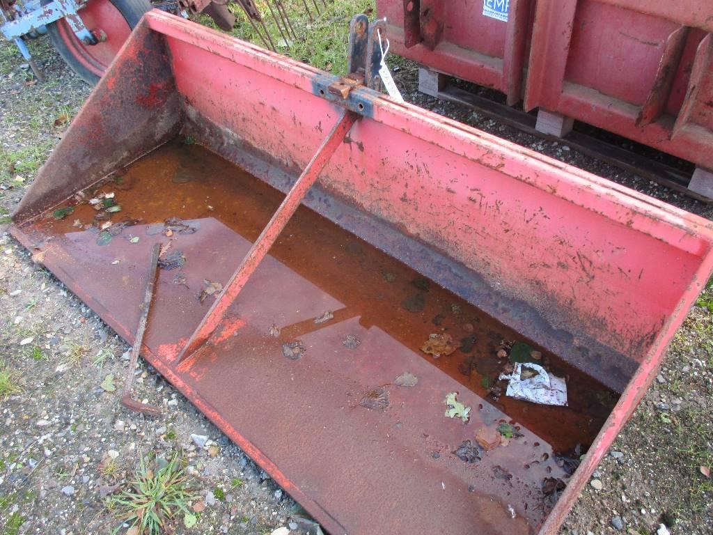 HT HT-180 cm Bagtipskovl, Andet tilbehør til traktorer, Landbrug