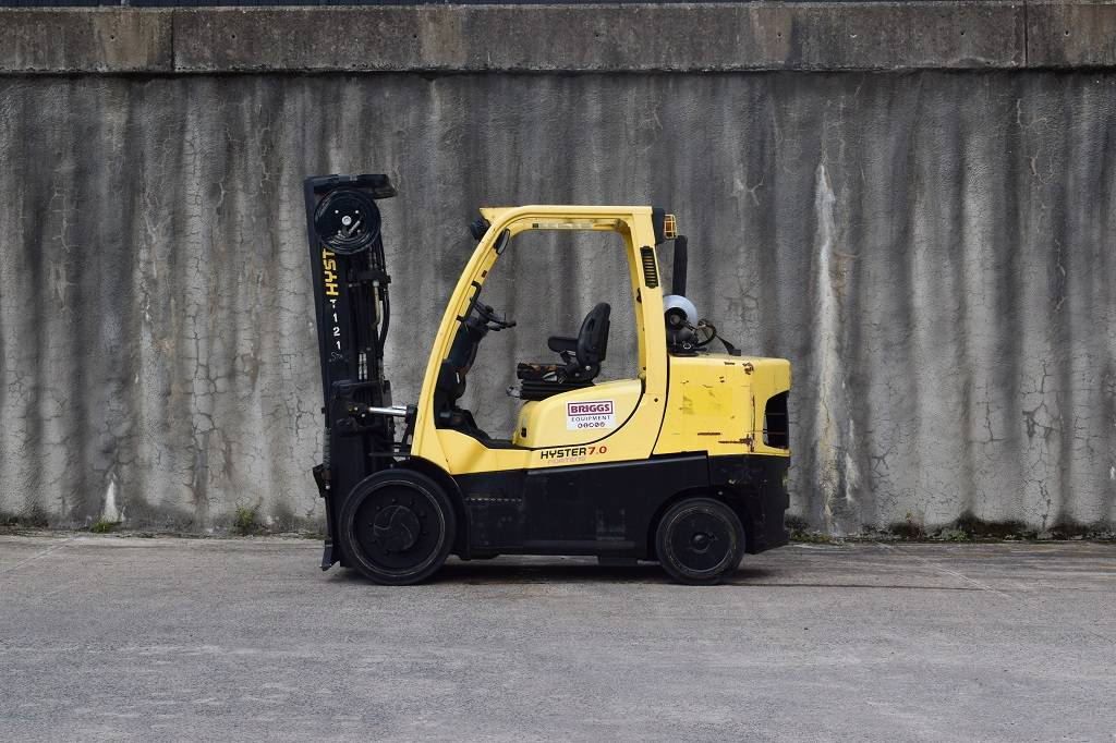 Hyster S 70 FT, LPG counterbalance Forklifts, Material Handling