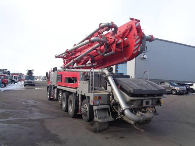 Putzmeister BSF 38Z-5.16H, Boom Pumps, Construction Equipment