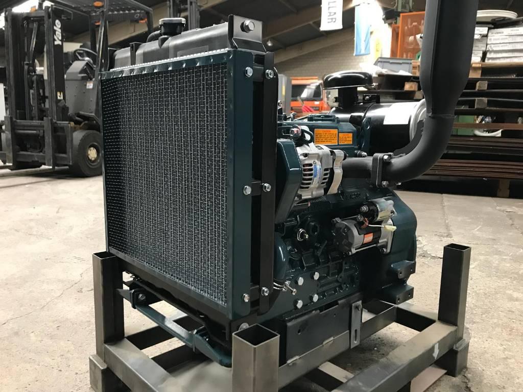 Kubota D 1105, Engines, Material Handling