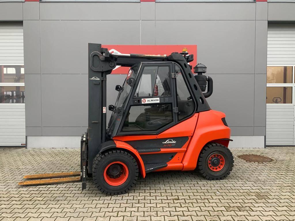 Linde H70D, Diesel trucks, Material Handling