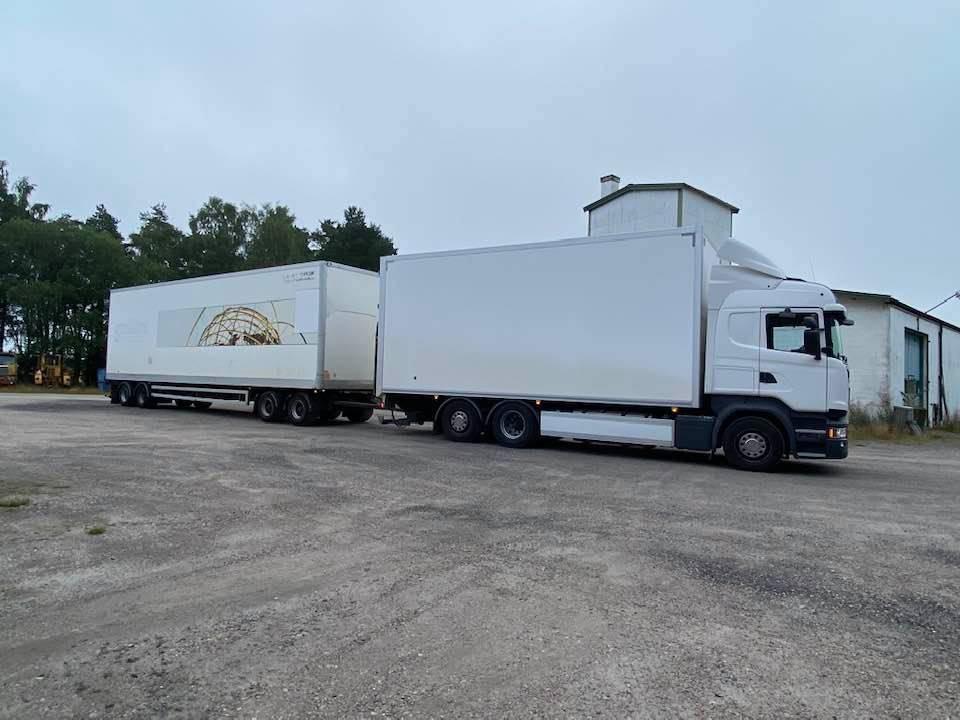 Scania R490 - Komplett ekipage, Box trucks, Trucks and Trailers