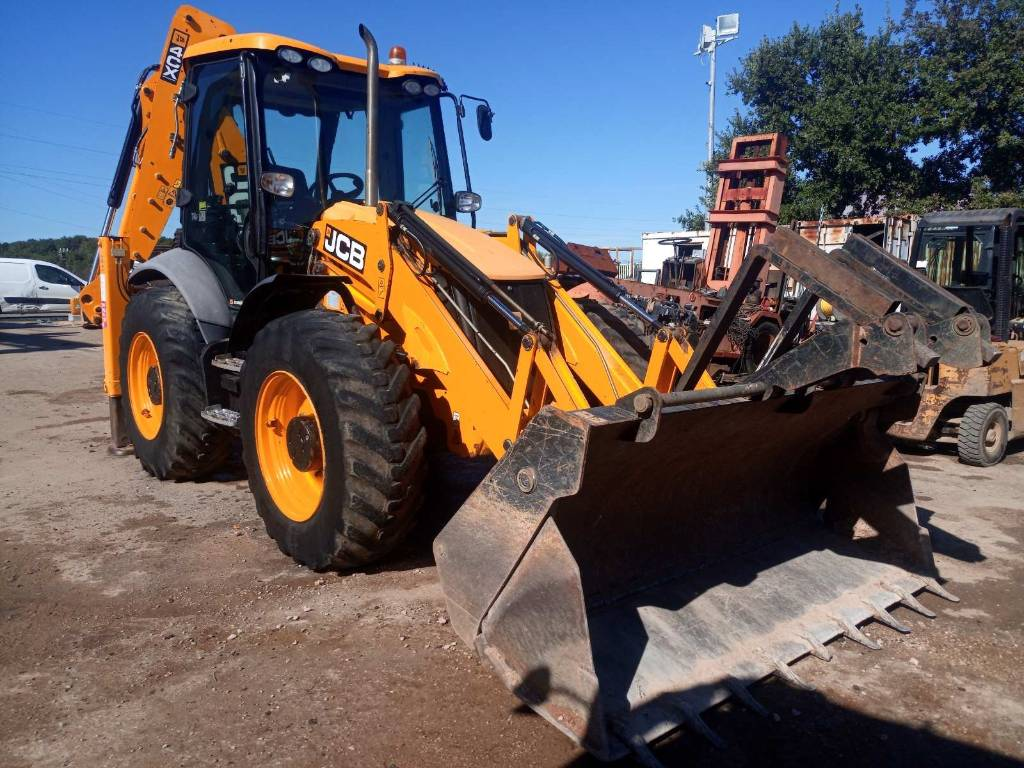 JCB 4 CX SM, Backhoe Loaders, Construction Equipment