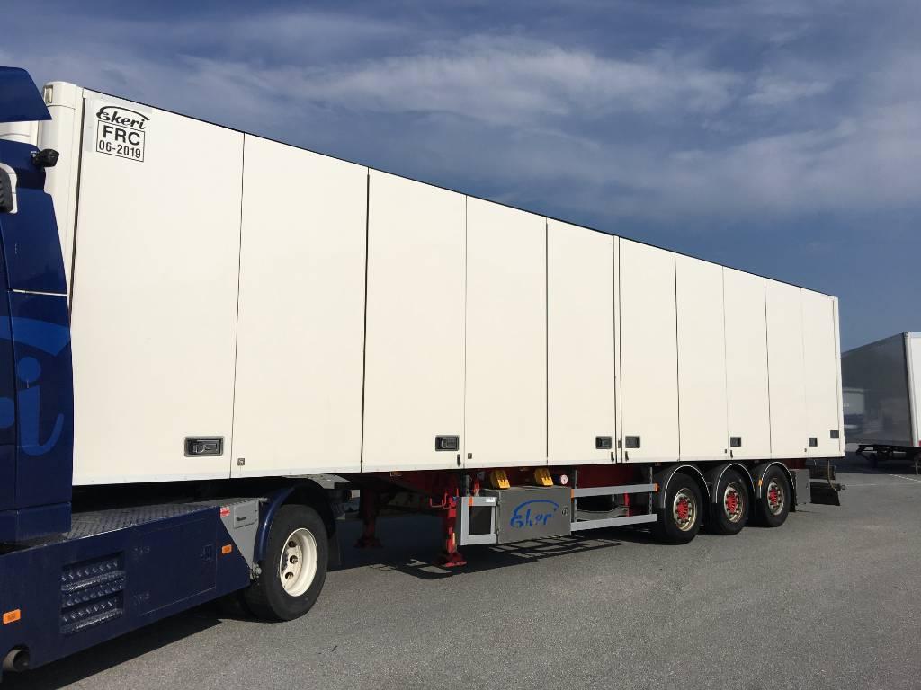 Ekeri FRC ppv, DAZ-919, Temperature controlled semi-trailers, Transportation