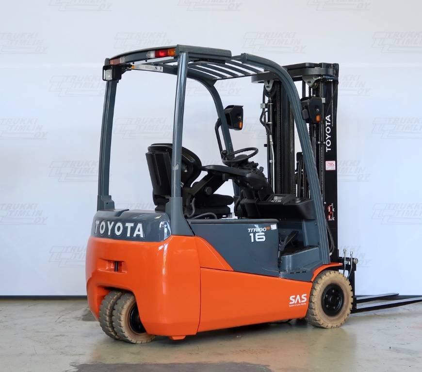 Toyota 8 FB ET 16, Sähkötrukit, Materiaalinkäsittely