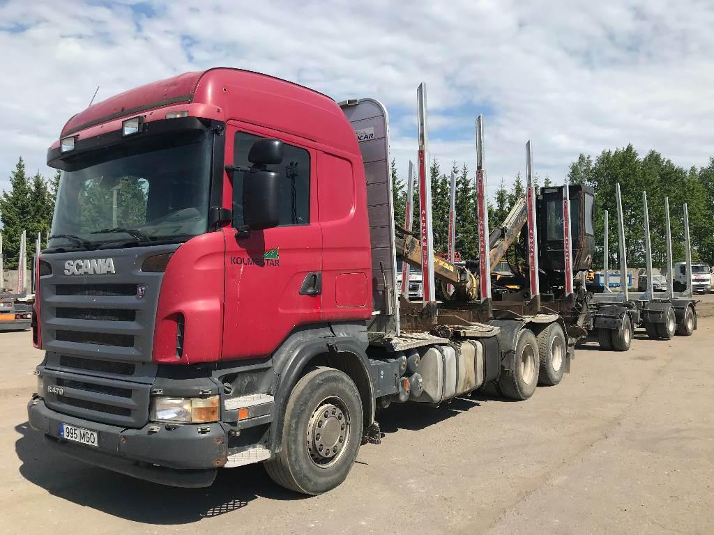 Scania R 470 LB 6x4, Metsaveokid, Transport