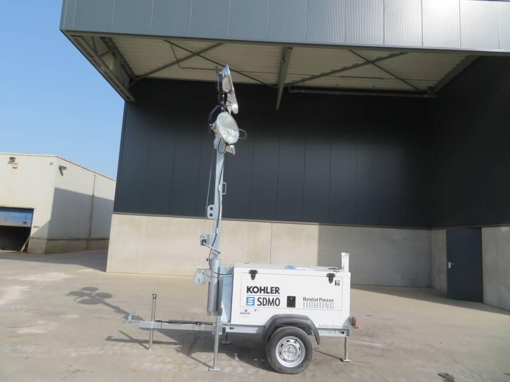 Kohler SDMO RL60-1B UNUSED, Mobiele lichtmasten, Bouw