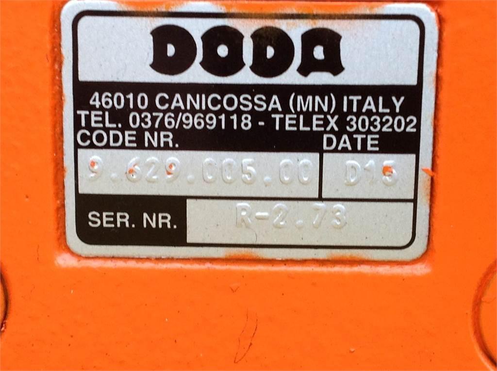 Doda AFI 35HD, Pompen en mixers, Landbouw
