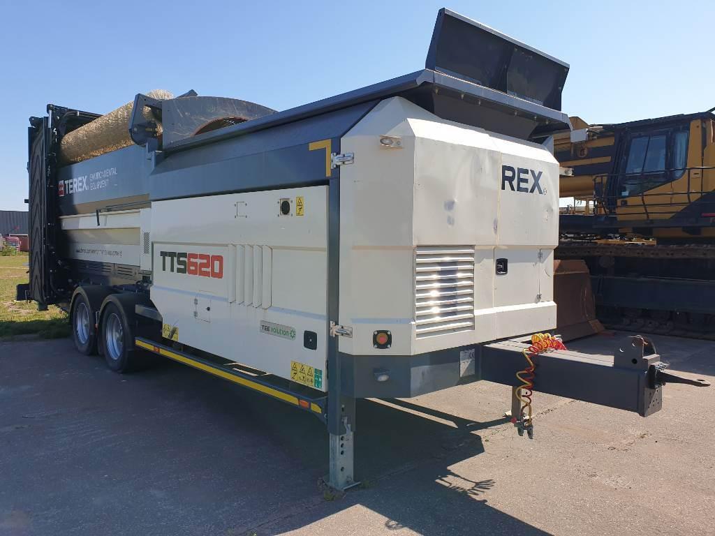 Terex TTS 620, Mobiele zeefinstallaties, Bouw