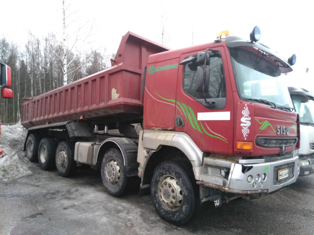 Sisu E11 10x4, Tipper trucks, Transportation