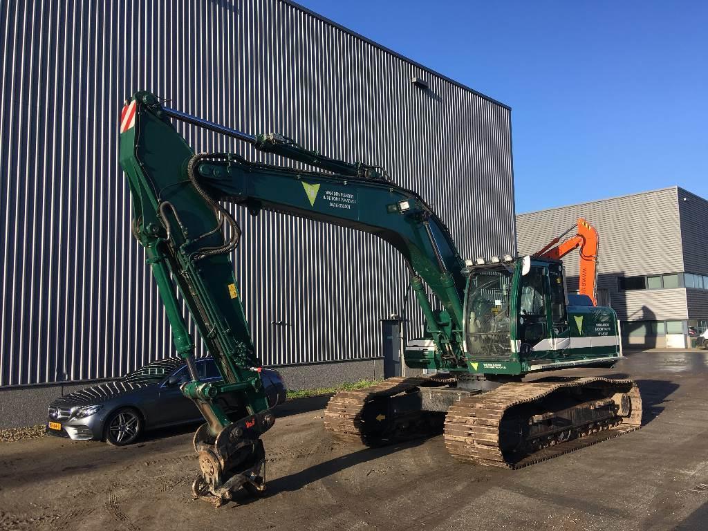 Hitachi ZX280LC-3, Crawler Excavators, Construction Equipment
