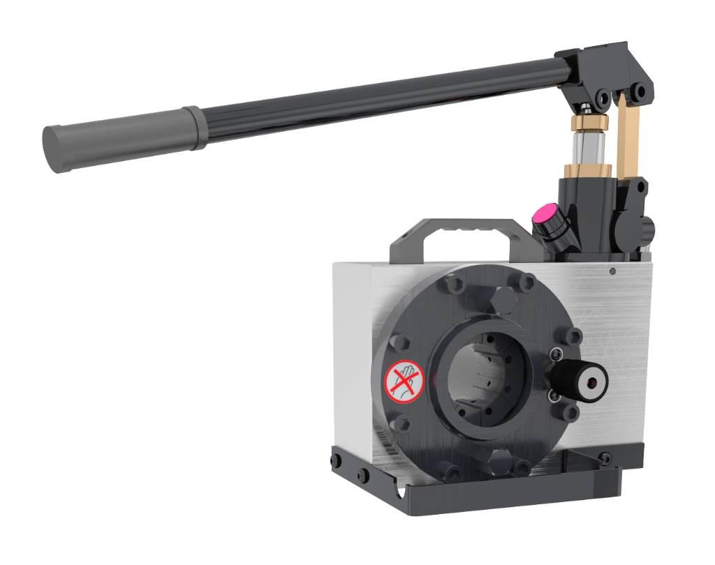 Techmaflex Manuell Slangpress Hcrimp-80, Redskap till skogsmaskiner, Skogsmaskiner