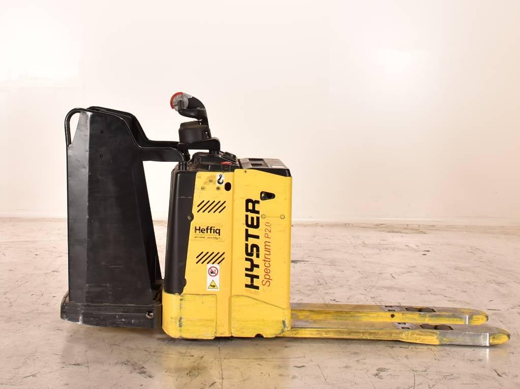 Hyster P2.0S, Pedestrian stacker, Material Handling