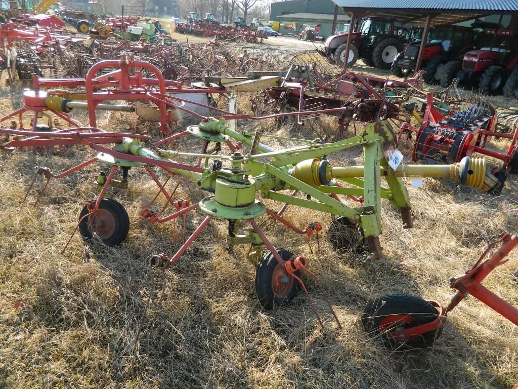 CLAAS 4, Grābekļi, Lauksaimniecība