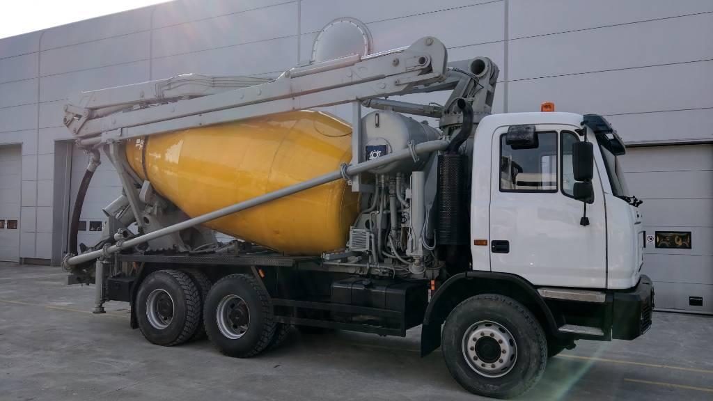 Cifa MK 24, Kamionske črpalke za beton, Gradbeništvo