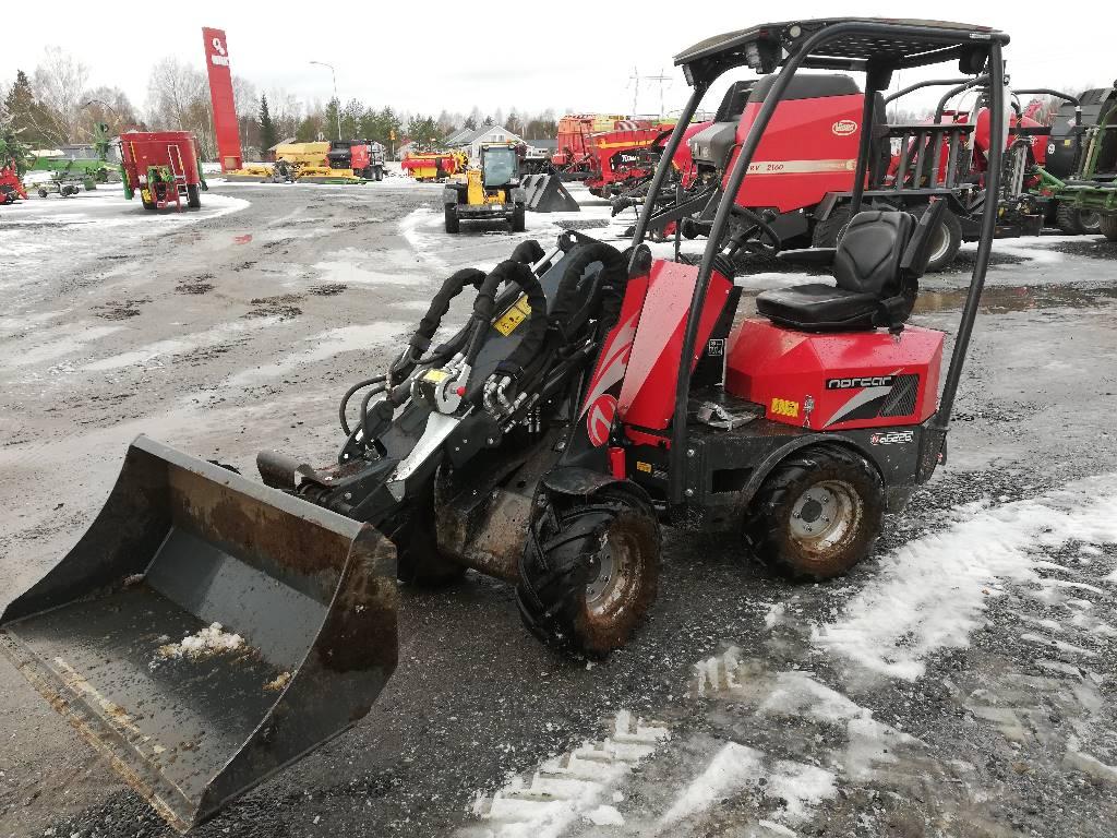 Norcar 6226 Tele, Muut kuormaus- ja kaivuulaitteet sekä lisävarusteet, Maatalous