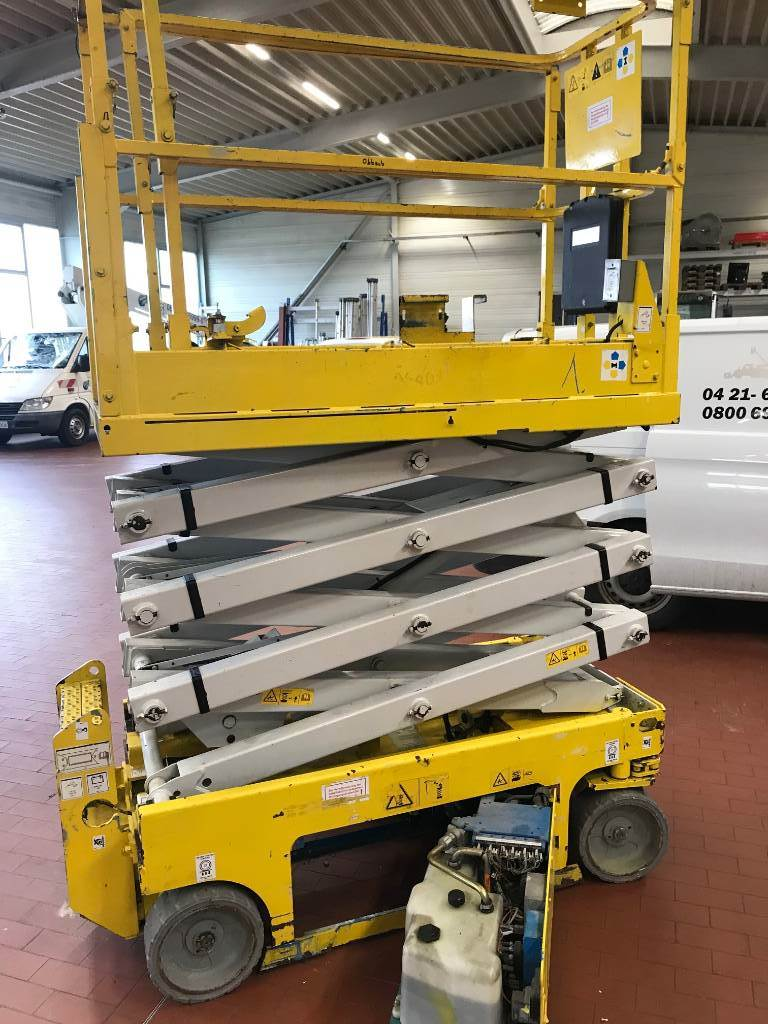 Genie GS1932 M, Scissor lifts, Construction