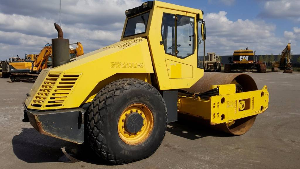Bomag BW 213 D-3, Other rollers, Construction Equipment