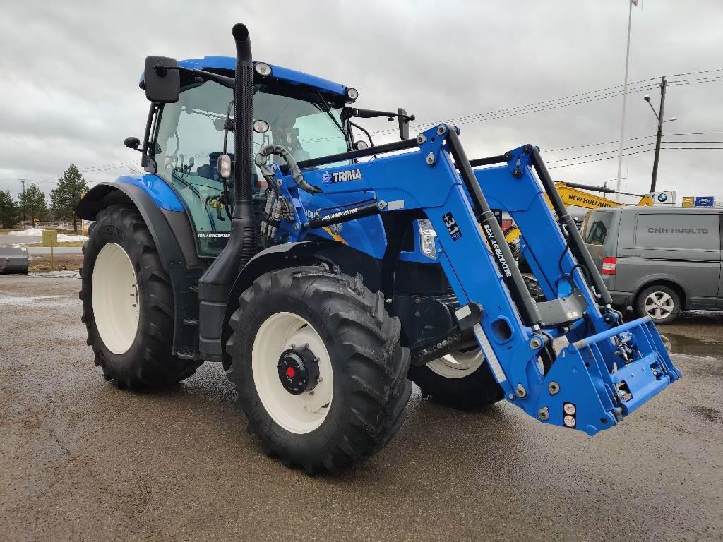 New Holland T6.140 EC 50 -POISTOMYYNTI!, Traktorit, Maatalous