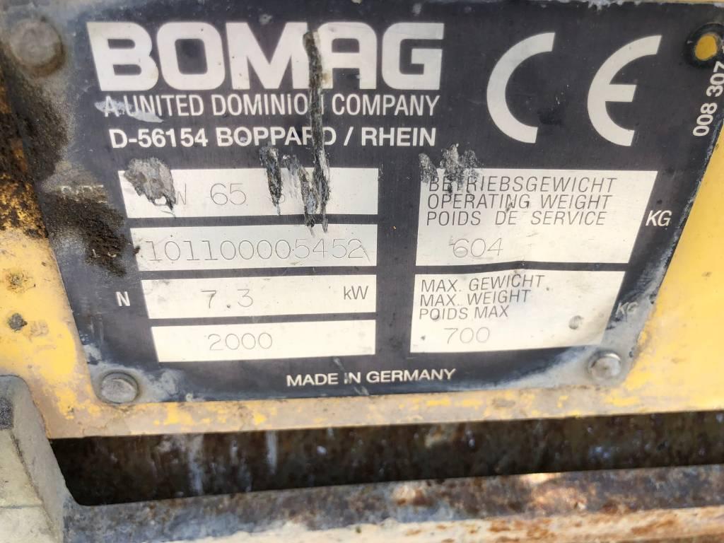 Bomag BW 65 S, Tandemwalzen, Baumaschinen