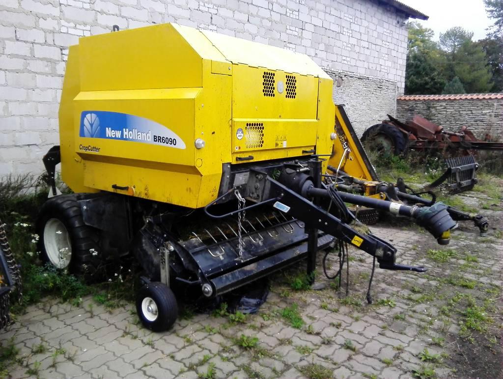 New Holland BR6090, Heinapressid, Põllumajandus