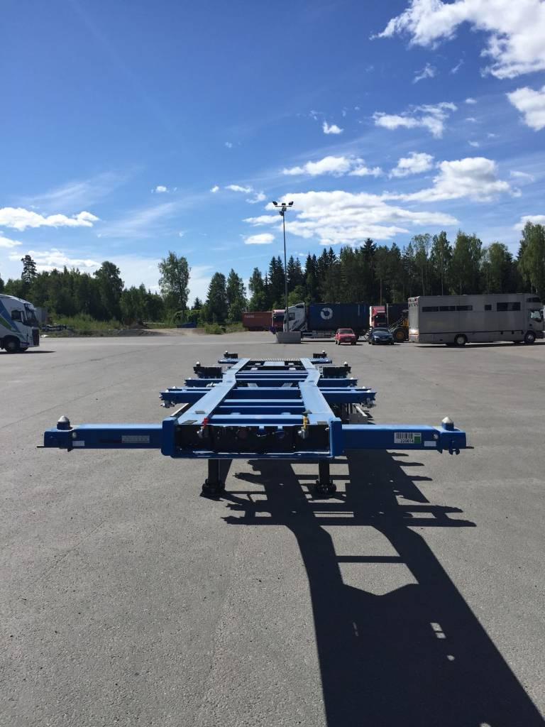 Kögel Port 40 simplex, Kontti ppv, Containerframe semi-trailers, Transportation