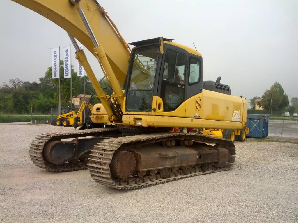 Komatsu PC340NLC-7K, Crawler Excavators, Construction Equipment