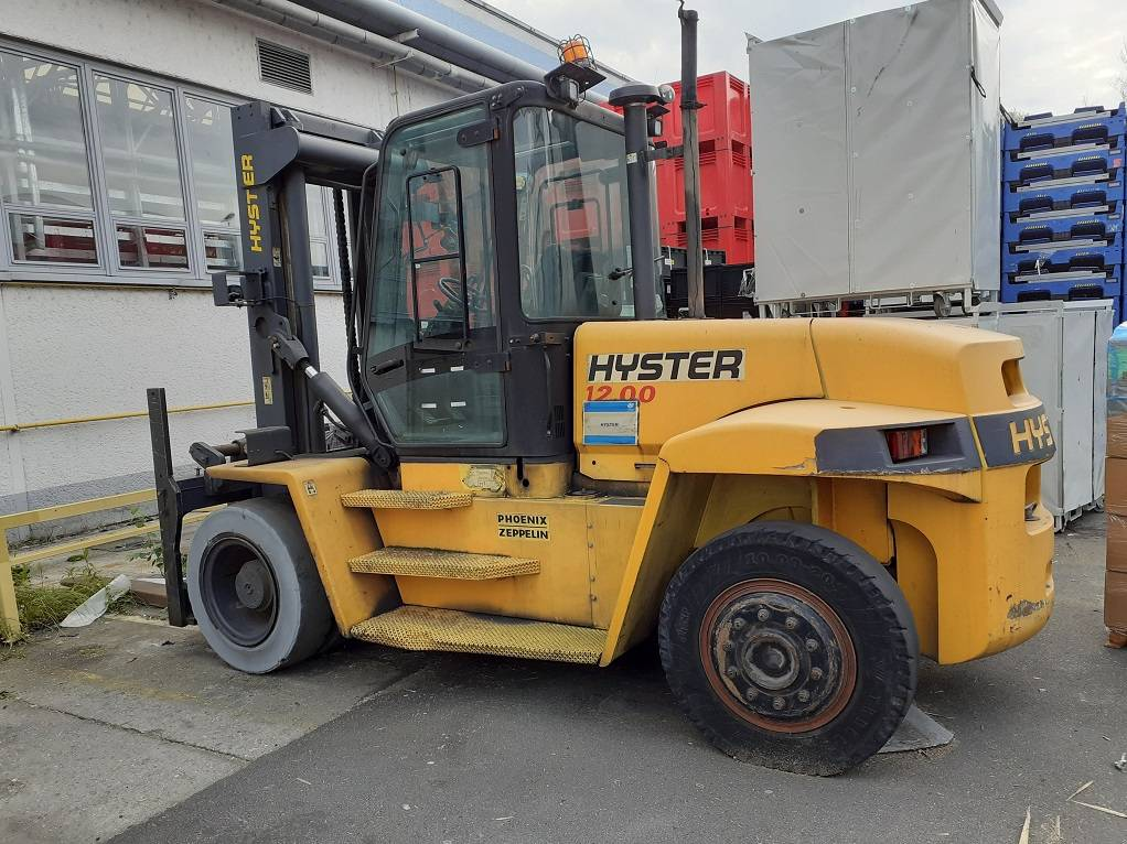 Hyster H12.00XM, Diesel counterbalance Forklifts, Material Handling