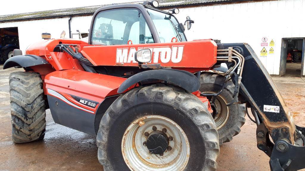 Manitou MLT 629, Telescopic handlers, Construction