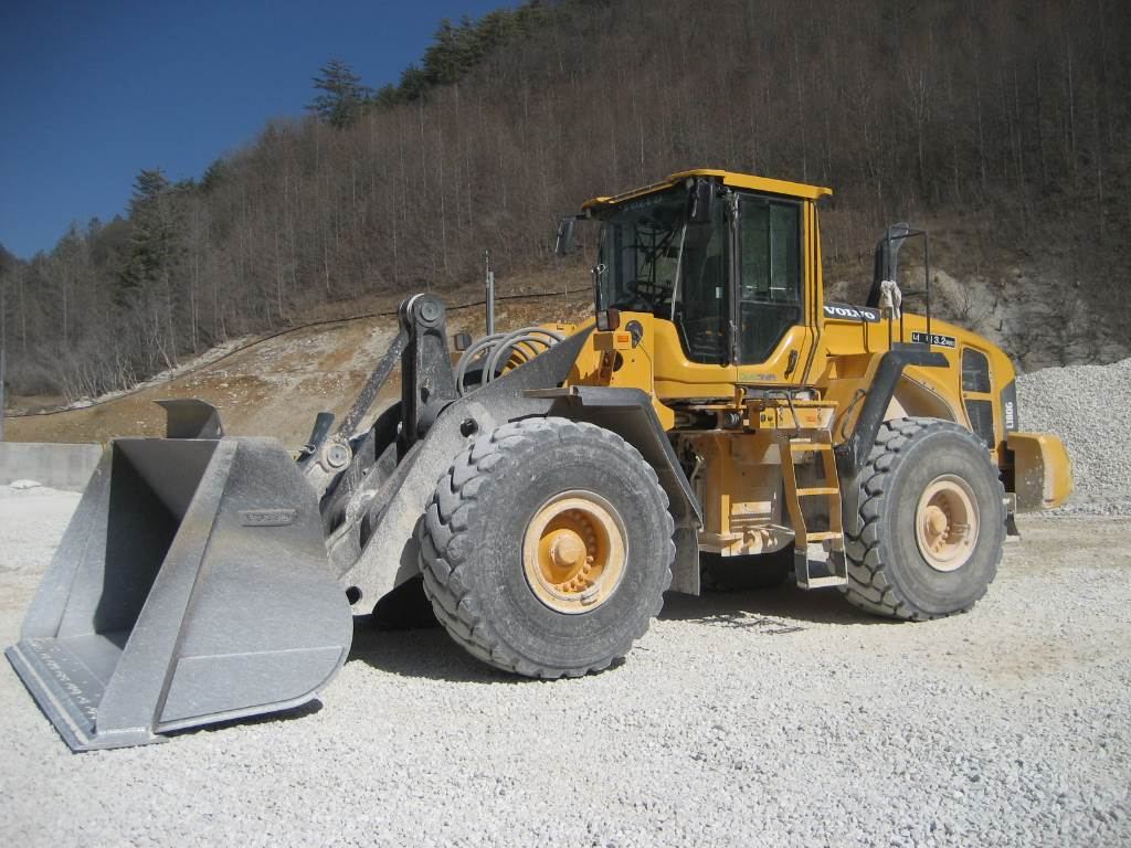 Volvo L180G, Wheel loaders, Construction