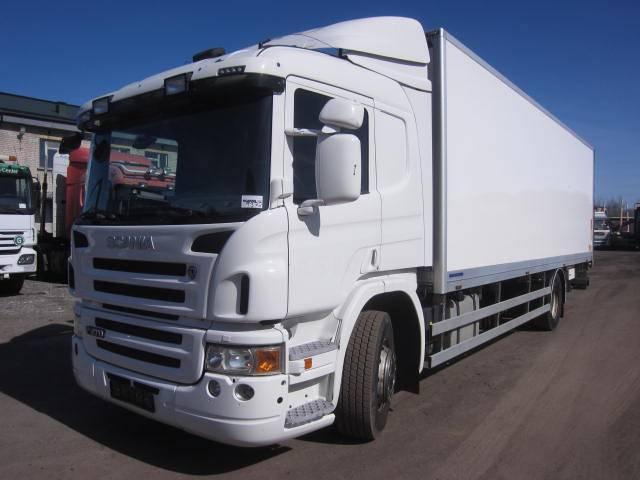 Scania P270 ETHANOL, Reefer Trucks, Trucks and Trailers