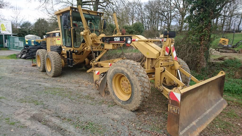Caterpillar 120 H, Motor Graders, Construction Equipment