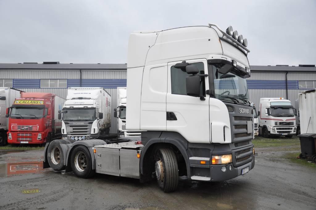 Scania R420 LB6X2MNB, Dragbilar, Transportfordon