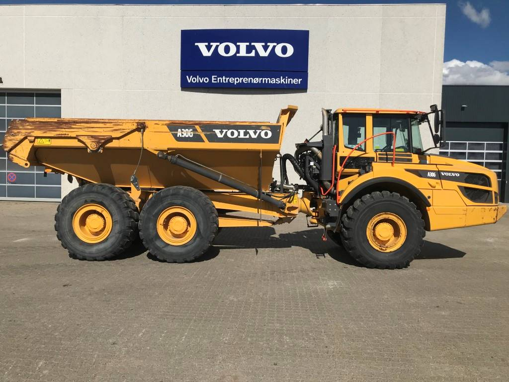 Volvo A30G, Rigid dump trucks, Construction Equipment