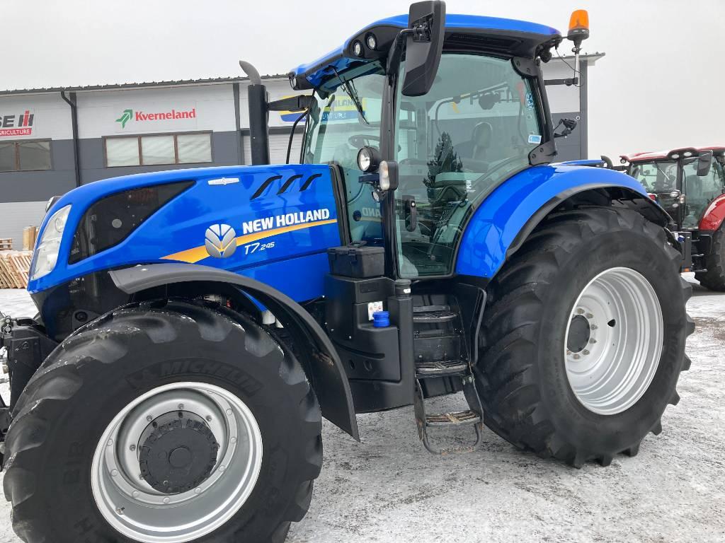 New Holland T 7.245 AutoCommand 50 km, Traktorit, Maatalous
