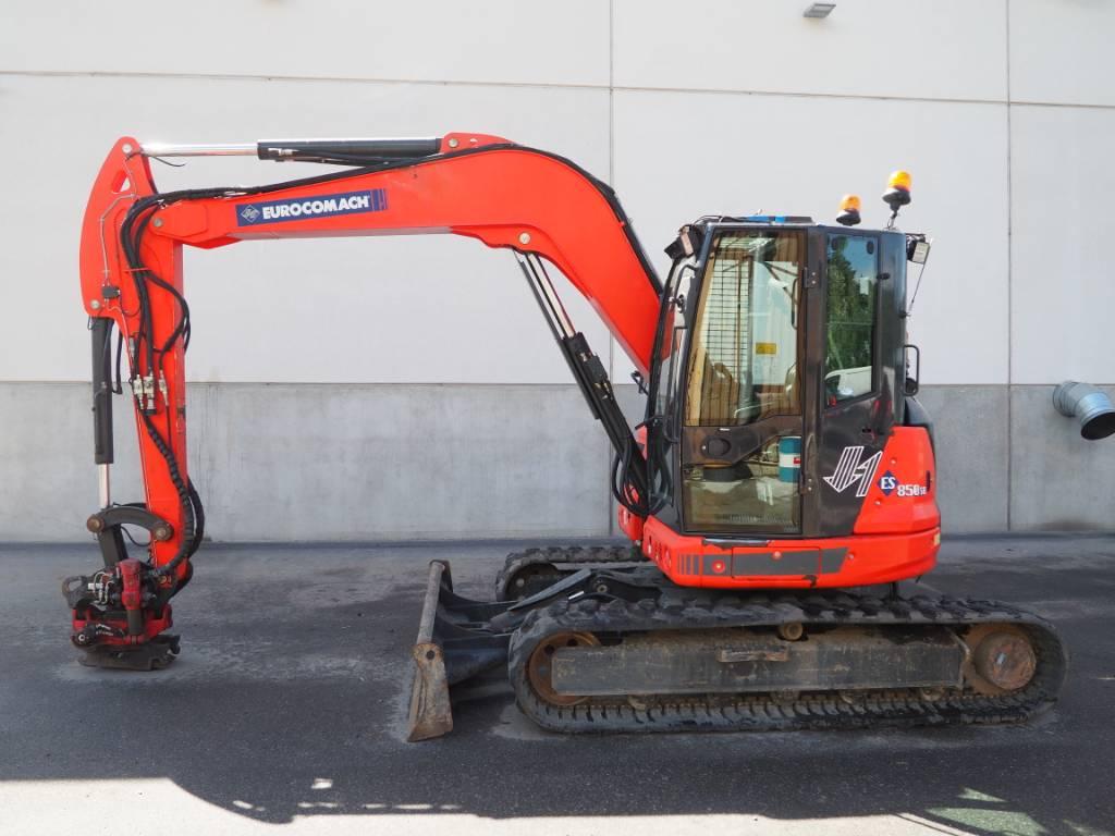 Eurocomach ES 850 SB, Midikaivukoneet 7t - 12t, Maarakennus