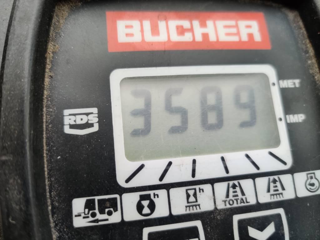 Bucher CityCat 2000, Lakaisukoneet, Ympäristökoneet