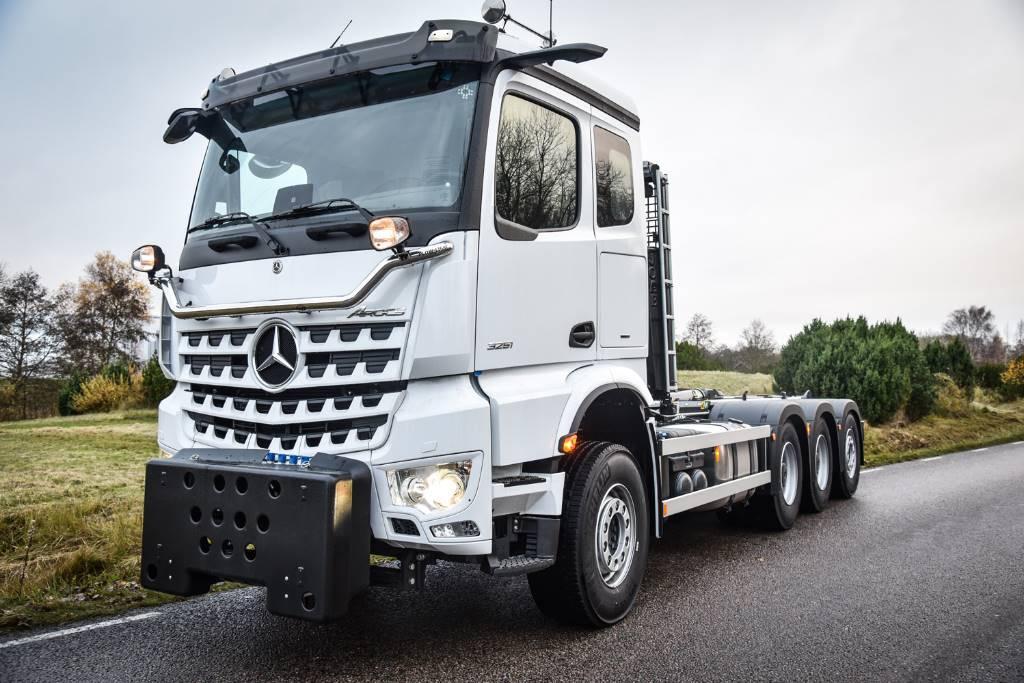 Mercedes-Benz VEHO Edition Arocs 3251 L Plogbil med krok, Lastväxlare/Krokbilar, Transportfordon