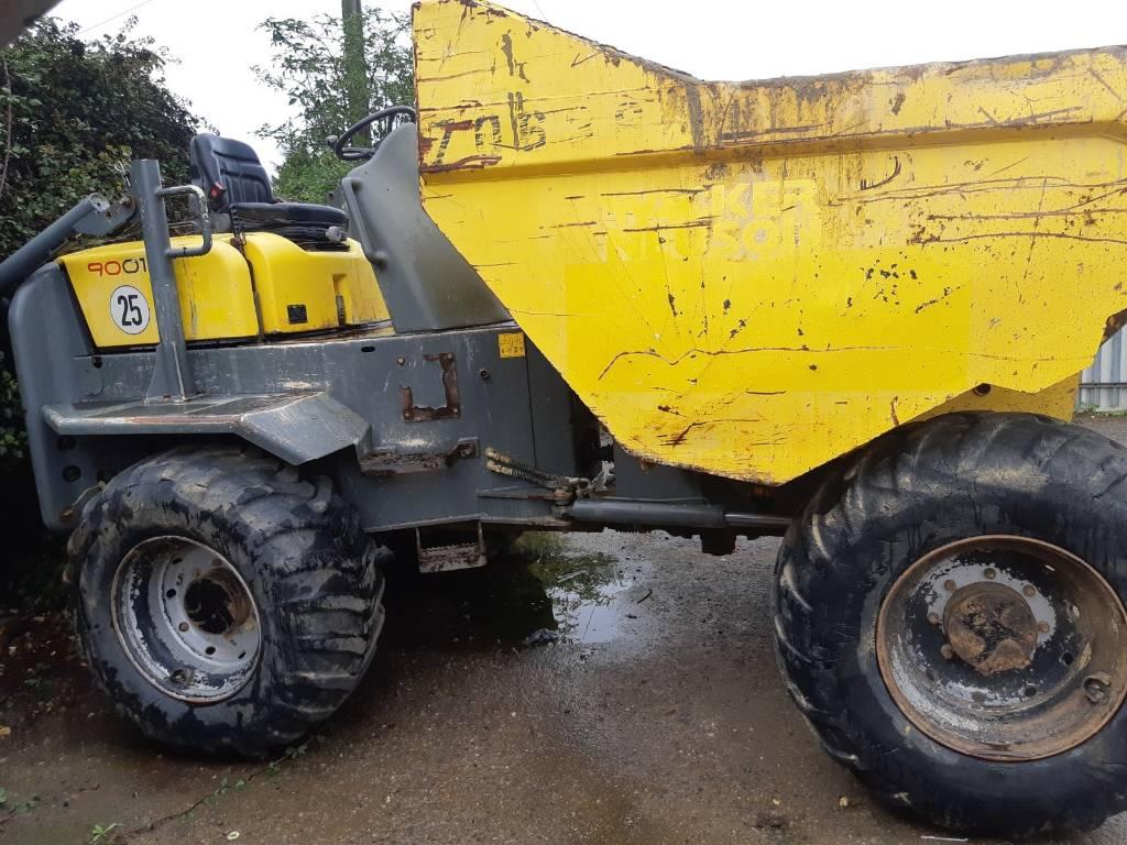 Wacker Neuson 9 ton Dumper, Site dumpers, Construction