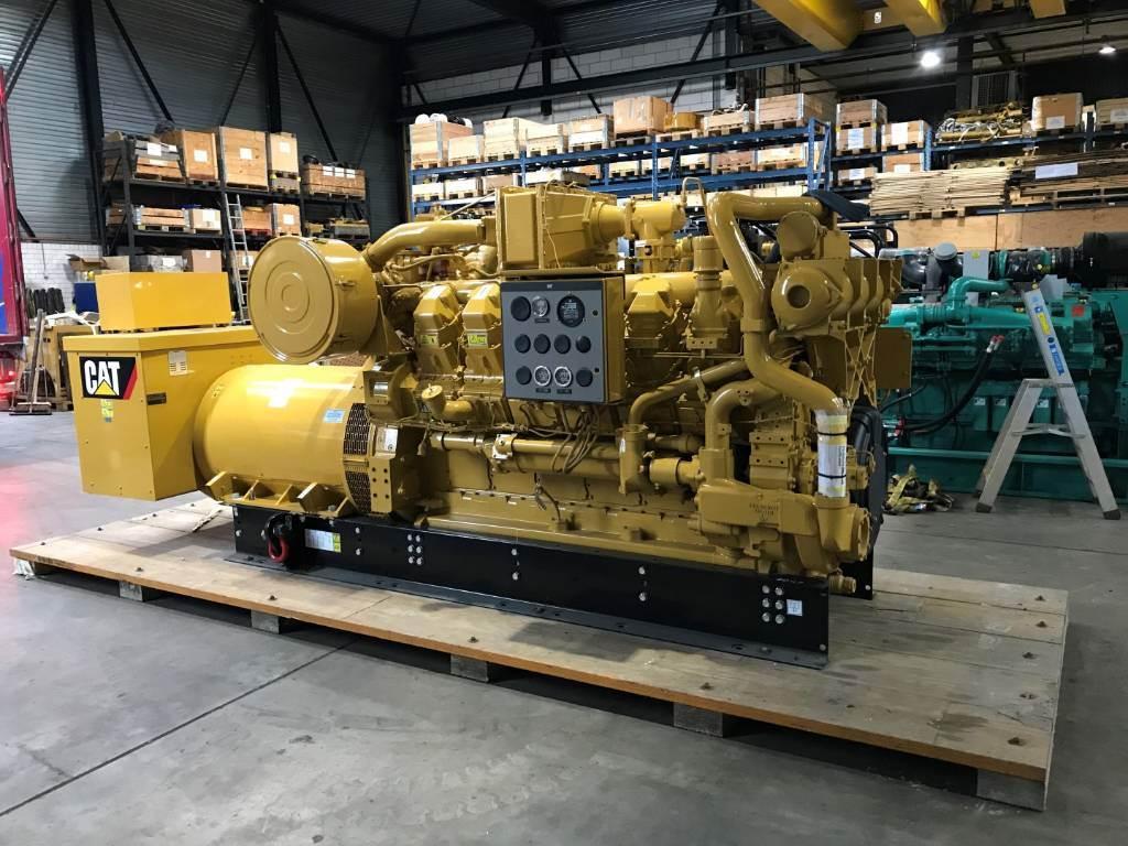 Caterpillar Surplus - G 3512 - Gas Generator Set- 906 kVa - DP, Electric Power Generator, Construction