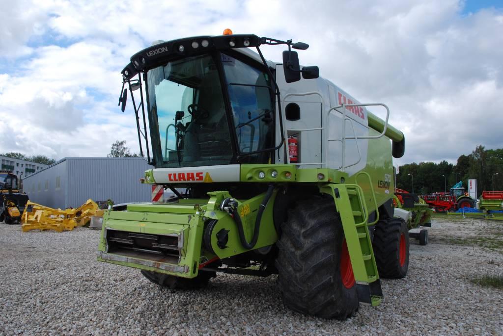 CLAAS Lexion 670, Kasutatud, Põllumajandus