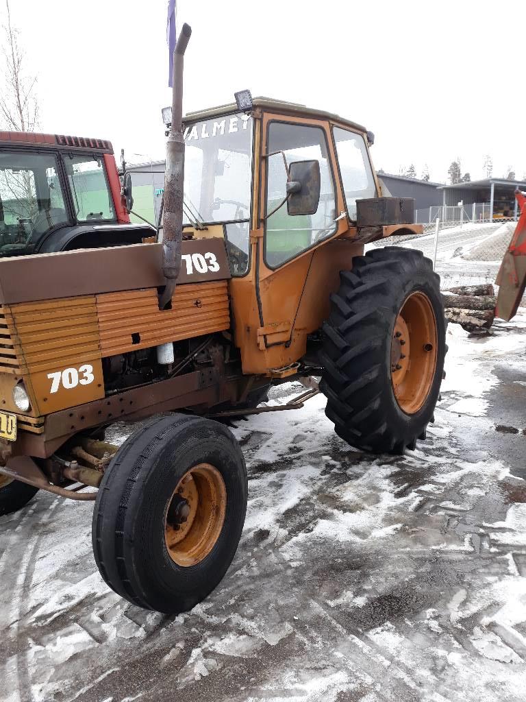 Valmet 702, Traktorit, Maatalous
