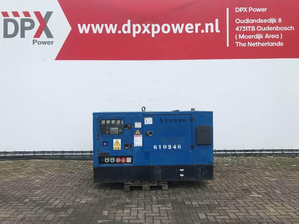 Gesan DPS 27 - Perkins - 30 kVA Generator - DPX-12165, Diesel generatoren, Bouw